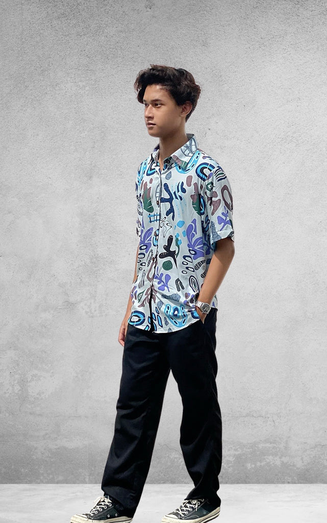 Ohana Men's Shirt (3 Sizes) - Artsy