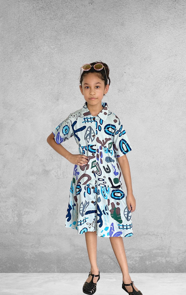 Ohana Kids Dress - Artsy