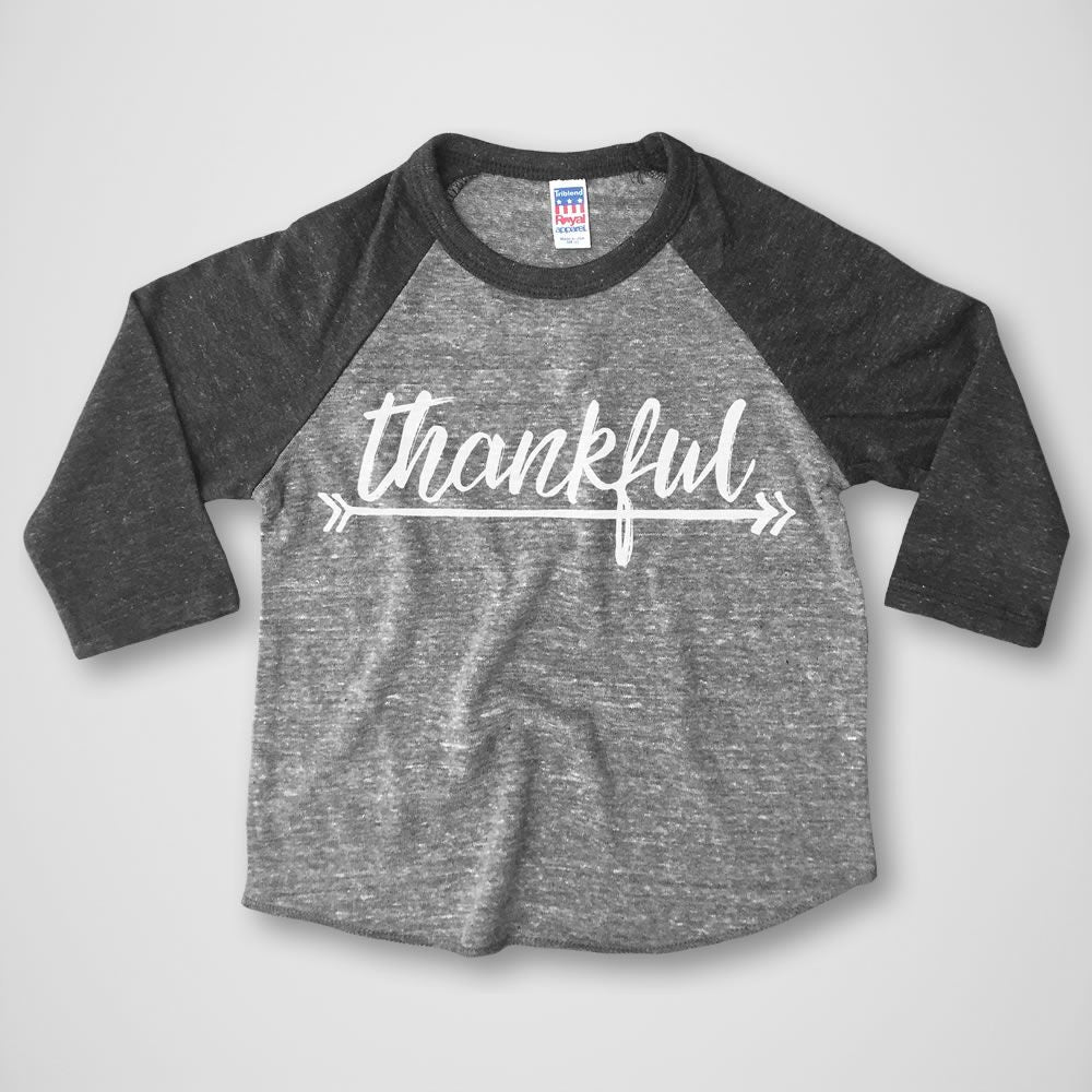Rivet Apparel Co. Thankful Baseball Tee