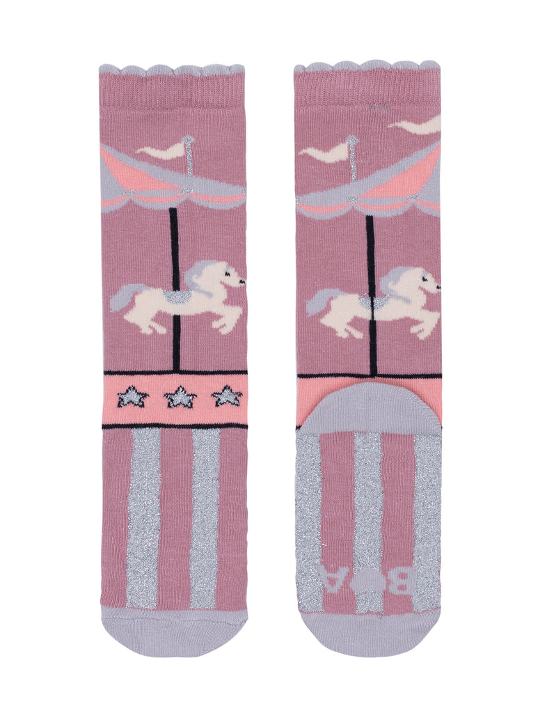 Billy Loves Audrey - Carnival Merry Go Round Socks