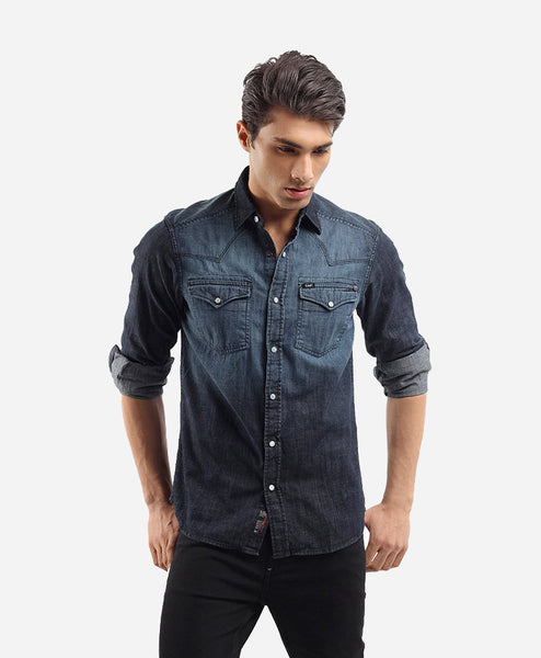 Fashionable Solid Polo H Black