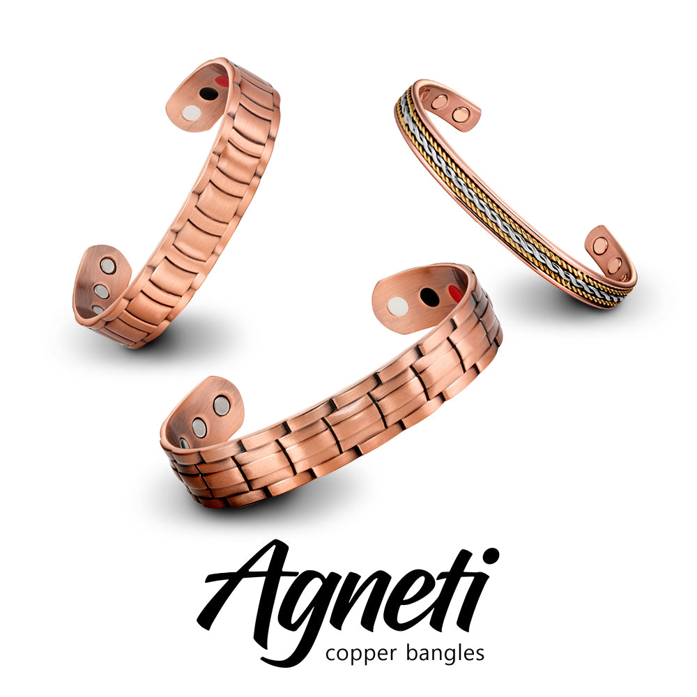COPPER BRACELETS by Agneti