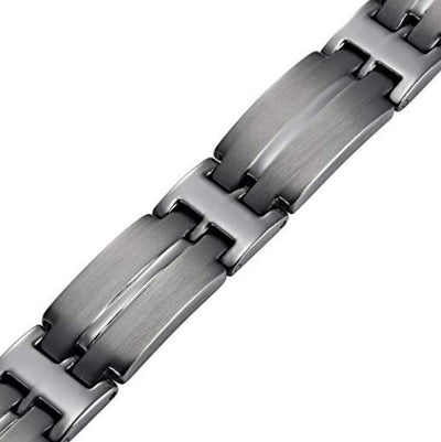 Mens Willis Judd Titanium Magnetic Therapy Bracelet for Arthritis Pain Relief Size Adjusting Tool and Gift Box Included