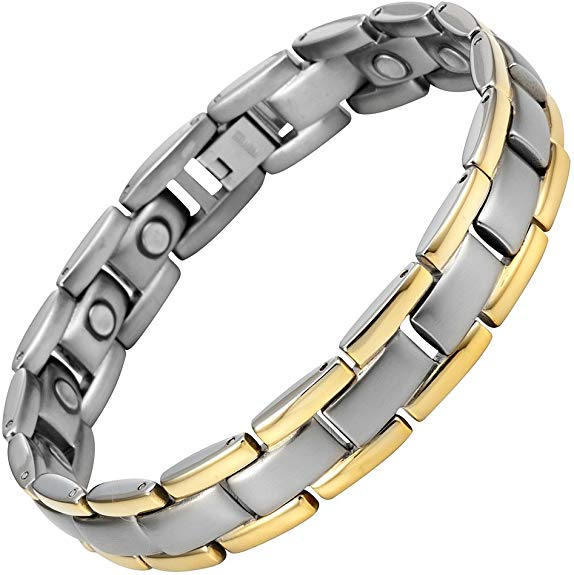Mens Willis Judd Magnetic Therapy Bracelet for Men Pain Relief for Arthritis Carpal Tunnel