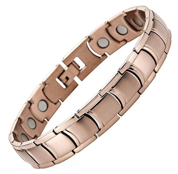 Mens Willis Judd Mens Titanium Magnetic Bracelet Size Adjusting Tool and Gift Box Included