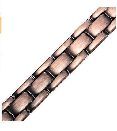 Mens Titanium Magnetic Therapy Bracelet Size Adjusting Tool & Gift Box Included