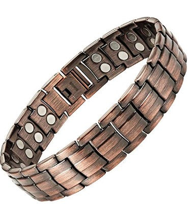 Mens Extra Strong Titanium Magnetic Bracelet for Pain Relief Adjusting Tool & Gift Box Included Willis Judd