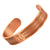 Agneti Pacemaker Pure Copper Medical Alert ID Bangle Bracelet