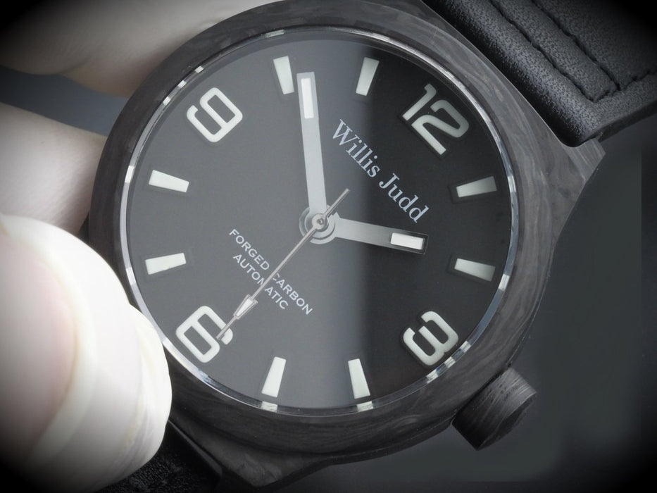 Forged Carbon Automatic - Standard Dial
