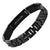Men's DAD Titanium Bracelet engraved Best Dad Ever with Best Carbon Fiber
