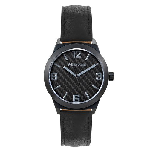 Black Horse Leather Strap