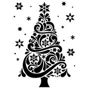 Darice - Embossing Folder - Christmas Tree