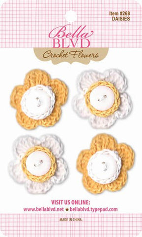 Bella Blvd - Crochet Flowers - Daisies