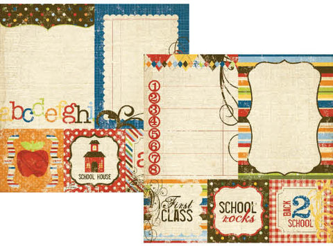 Simple Stories - Elementary - 4x4 Quote & 6x8 Photo Mat Elements