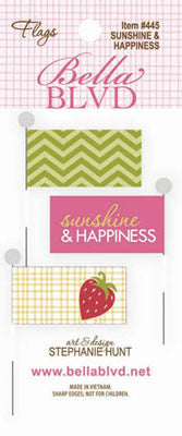 Bella Blvd - Sunshine & Happiness - Flags