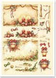 3D Die Cut - Christmas Antique Scroll - 83726