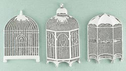 Prima - Shabby Chic Treasures - Metal Birdcages