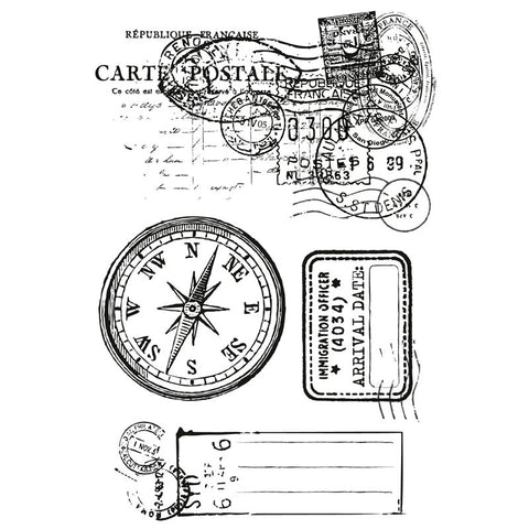 Kaisercraft - Check In - Clear Stamps