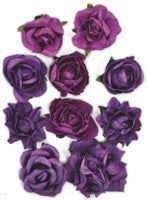 Kaisercraft - Paper Blooms - Grape