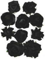 Kaisercraft - Paper Blooms - Black