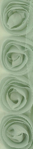 Kaisercraft - Ribbon Roses Small - Mint