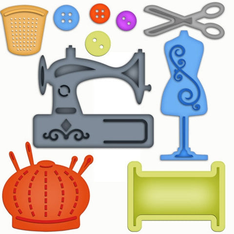 Spellbinders - Sewing Elements