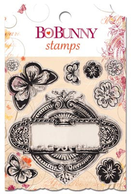 Bo Bunny - Ambrosia - Clear Stamp