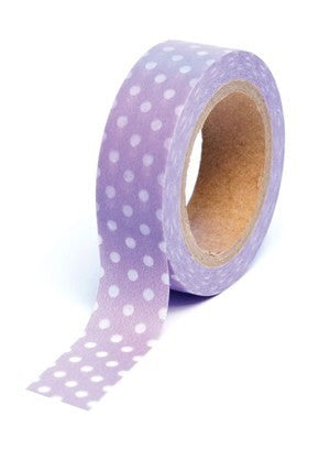 Queen & Co - Trendy Tape - Purple Spot