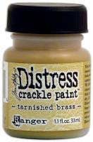 Distress Crackle Paint - Tarnished Brass (Metallic)