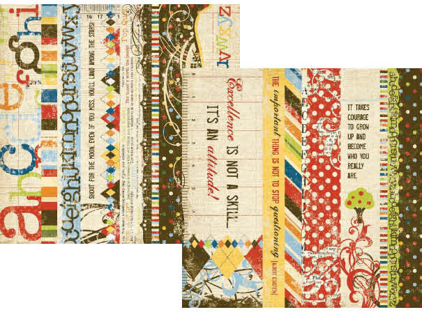 2x12 Border & 4x12 Title Strip Elements