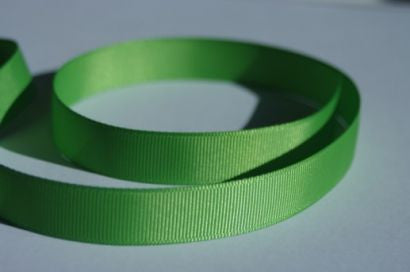 "3/8"" Grosgrain Ribbon - Bud Green"