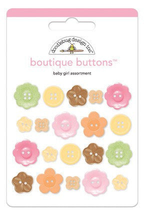 Doodlebug Designs - Sugar & Spice - Boutique Buttons