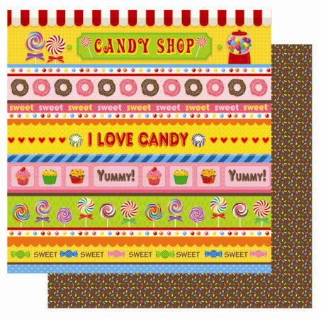 Best Creation - Candy Shop - Borders & Strips