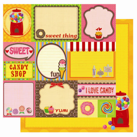 Best Creation - Candy Shop - Cut Outs Sheet