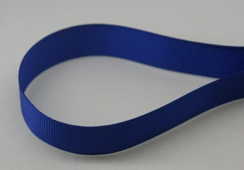 "3/8"" Grosgrain Ribbon - Cobalt"