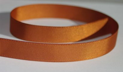 "3/8"" Grosgrain Ribbon - Copper"