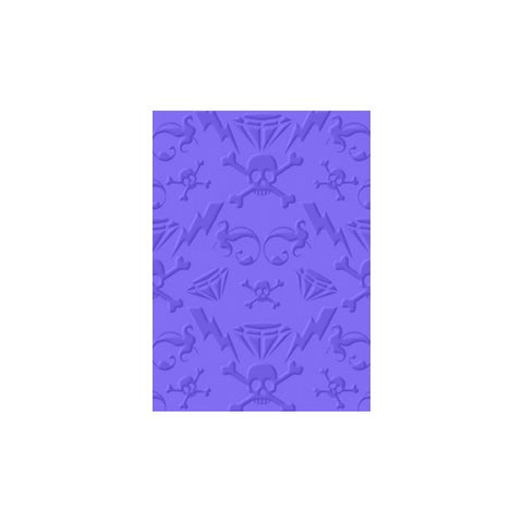 Cuttlebug Embossing Folder - Gem Rox 5x7