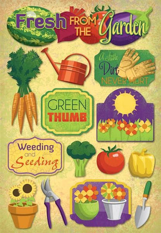 Karen Foster - Weeding & Seeding Sticker