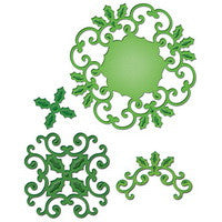 Spellbinders - Holly Motifs
