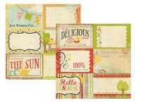 100 Days of Summer - 4x6 Journaling Card Elements #1