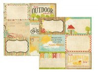 100 Days of Summer - 4x6 Journaling Card Elements #2