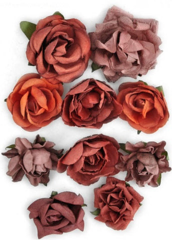 Kaisercraft - Paper Blooms - Ruby