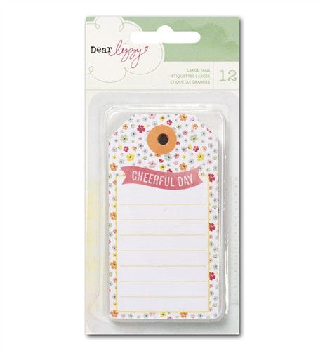 American Crafts - Dear Lizzy Neapolitan - Large Tags
