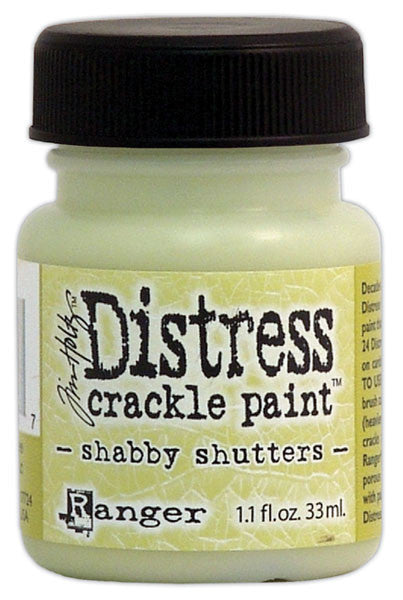 Distress Crackle Paint - Shabby Shutters