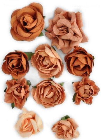 Kaisercraft - Paper Blooms - Terracotta