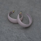 Softest Pink Wide Hoop