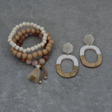 Set of Three Stretch Bracelets