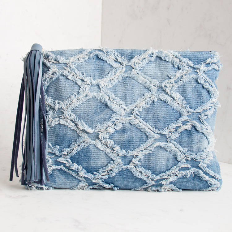 Denim Days Clutch