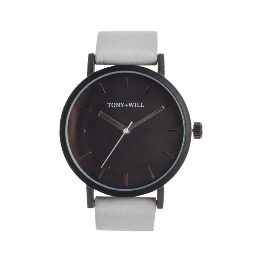 Black & Grey Lether Watch