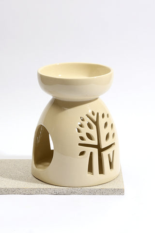 Ivory Candle Holder - Small